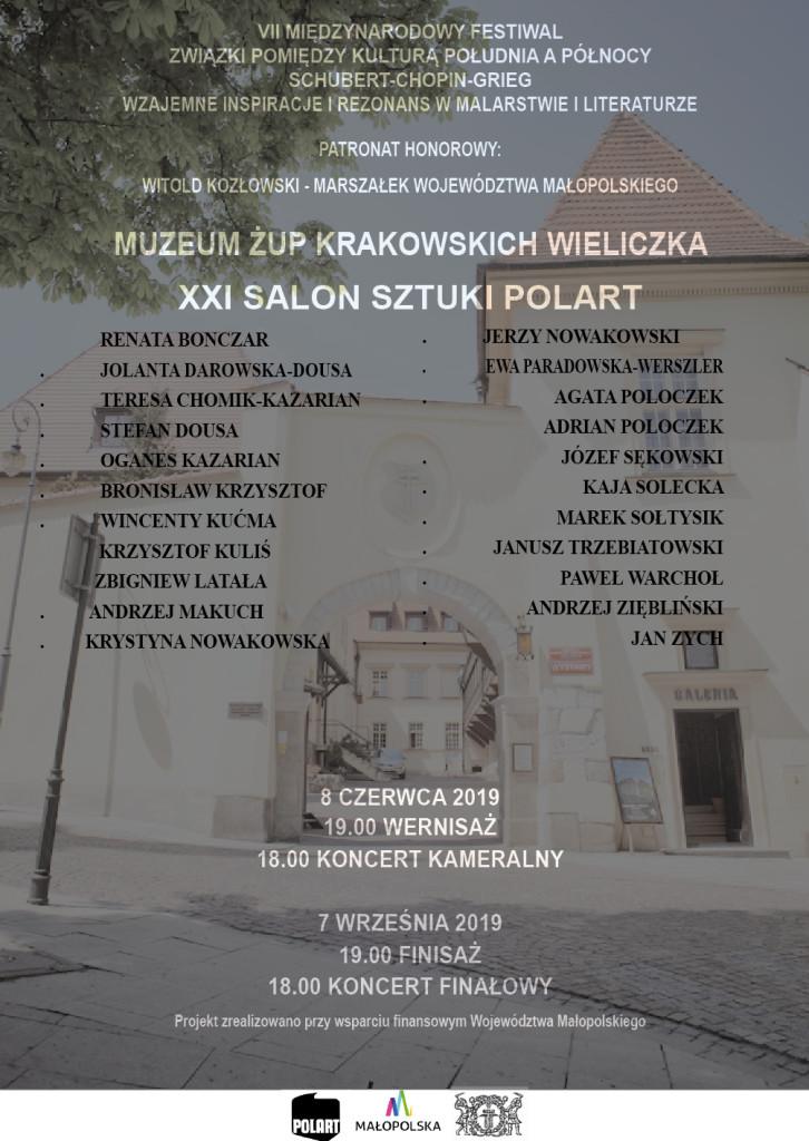 VII F M 2019 zaproszenie Wieliczka